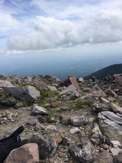 茶臼岳 山頂