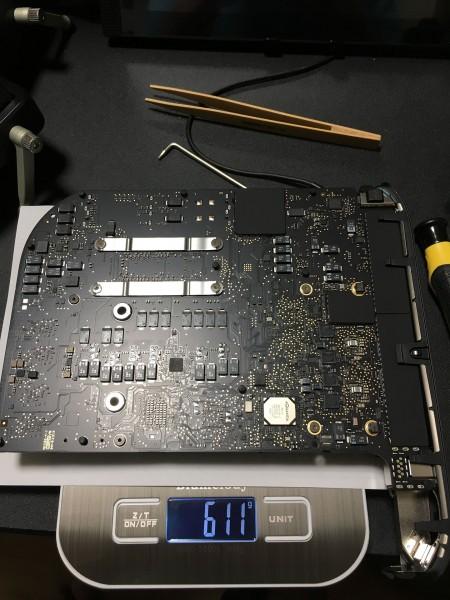 Mac mini 2018 中身611g